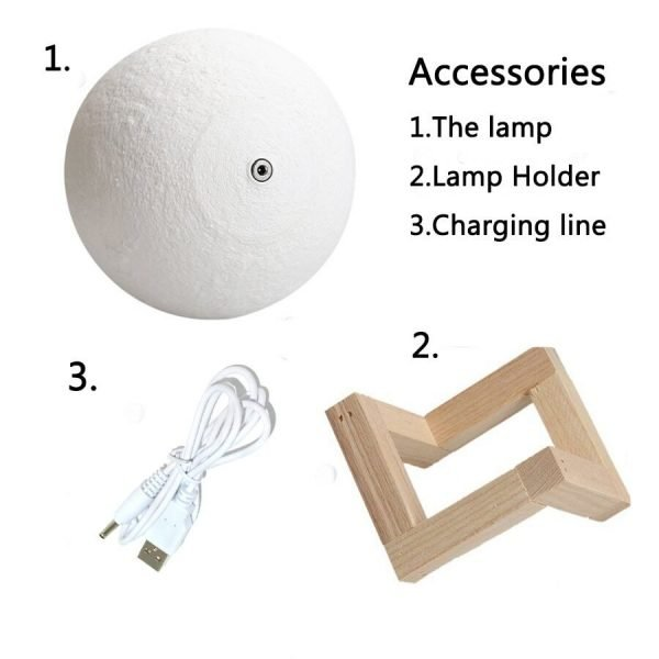 Moon lamp Accessories