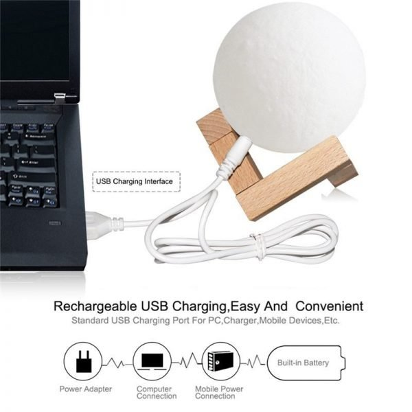 ultimate moon lamp charging