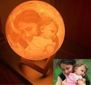 Customise Moon Lamp