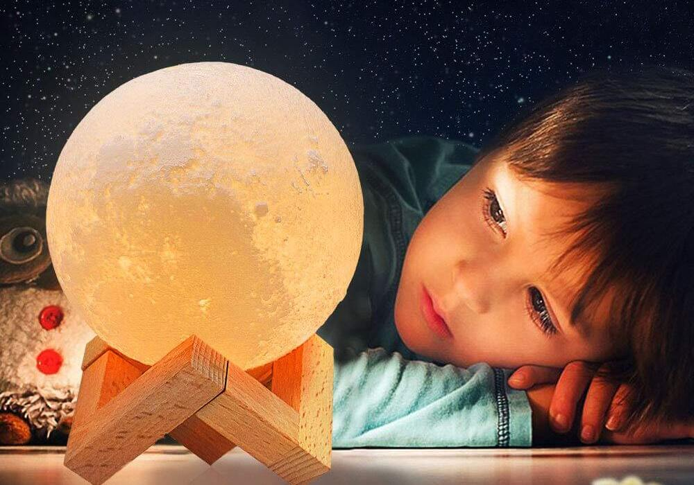 Ultimate 3 Colours Moon Lamp